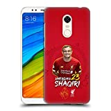 Head Case Designs Offizielle Liverpool Football Club Xherdan Shaqiri 2019/20 Erstes Team Gruppe 1 Harte Rueckseiten Handyhülle Hülle Huelle kompatibel mit Xiaomi Redmi 5 Plus