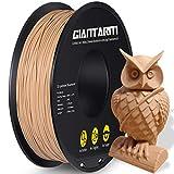 GIANTARM PLA Filament 1,75 mm für 3D-Drucker 1 kg, Holz