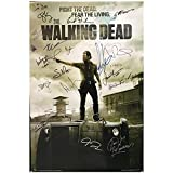 Qqwer The Walking Dead Amc Tv Show Signed Poster Wall Art Pictures Canvas Paintings For Living Room Decoration -50X70Cmx1Pcs -No Frame