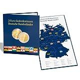 Leuchtturm 300408 PRESSO Münzalbum für 16 deutsche 2 Euro Gedenkmünzen der Bundesländer | 2 Euroserie  Deutsche Bundesländer | b