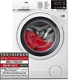 AEG L7WB65684 Waschtrockner / DualSense - schonende Pflege / 8,0 kg Waschen / 4,0 kg Trocknen / Energiesparend / Mengenautomatik / ProSteam - Auffrischfunktion / Kindersicherung