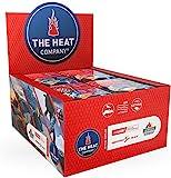 THE HEAT COMPANY Fußwärmer - 40 Paar - EXTRA WARM - klebend - Zehenwärmer - 8 Stunden warme Füße - sofort einsatzbereit - luftaktiviert - rein natürlich - für alle Größen