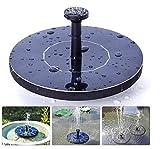 HGXC Springbrunnen Pump Springbrunnen Kit für Vogelbad Gartenterrasse Aquarium Terrassenteich und Schwimmb