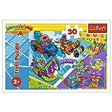 Trefl, Puzzle, Team von Superspionen, 30 Teile, Magic Box Super Things, für Kinder ab 3 Jahren