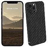 VIVERSIS echte Carbon Hülle für Apple iPhone 12 Pro, matt schwarz, ultradünn, sehr leicht, MagSafe kompatibel, kabelloses Laden, Premium Qualität - Hand Made in Germany