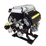 12che Technik Power Funktion Set 871St Statisch Ausführung 32 Luftventil 8 Zylinder 4 Takt Motor Baustein Kit für Lego V8 Modell