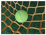 AEINNE Tennisnetz Übungsnetze, Netz Fußballtor Fussball Tor Tornetz Fussballtor Ersatz Torwand Netz Tennis Training Ersatznetz Fussballtore Absperrung Soccer Tore Goal Net Football Ballfangnetz Netze