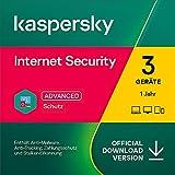 Kaspersky Internet Security 2021   3 Geräte   1 Jahre   Windows/Mac/Android   Aktivierungscode per Email