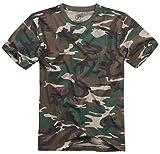 Brandit T-Shirt, Woodland XXL