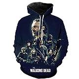 mglxzxxzc Der Walking Dead 3D-Druck Unisex Hoodie Casual Boys Mädchen Kinder Pullover Streetwear Sweatshirts-V7_3XL