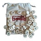 Das Stuhrer Eselspiel XXL mit 121 Spielsteine und 6 Stapel ~ Familienspiel, Partyspiel, Lernspiel, Legespiel bis 10