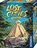Kosmos 680589 Lost Cities - Roll & Write, Das beliebte Abenteuer-Spiel als Würfelspiel mit Spielblock und sechs Würfel, für 2 bis 5 Personen, Gesellschaftsspiel für Erwachsene und Kinder ab 8 Jahre