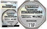 Konger Angelschnur World Champion Fluorocarbon Coated 0,10-0,30mm/150m Monofile Schnur super stark ! (0,18mm / 5,05kg)
