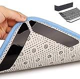 Teppichgreifer Antirutschmatte, 32 Stück Antirutschmatte für Teppich, Washable Wiederverwendbar Teppich Aufkleber Starke Klebrigkeit