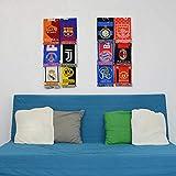 Fußball-Schal-Ausstellungsständer – Sport-Schal-Halter (Doppelmodul)