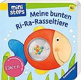 Meine bunten Ri-Ra-Rasseltiere: Ab 6 Monaten (ministeps Bücher)