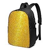 XCNGG Dabbing Pug Travel Laptop Rucksack, Rucksack mit USB-Ladeanschluss, für Männer Frauen Für 17 Zoll