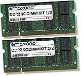 Maxano 8GB Kit (2x4GB) RAM passend für Fujitsu Siemens Amilo Pi 3625 DDR2 667MHz SODIMM Arbeitsspeicher