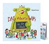 Carlsen Verlag Das kleine WIR in der Schule (Gebundenes Buch) + ABC-Übersicht - Humorvolles, lehrreiches Bilderbuch ab 4 Jahren