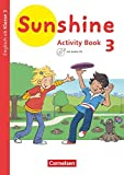 Sunshine - Englisch ab Klasse 3 - Allgemeine Ausgabe 2020 - 3. Schuljahr: Activity Book - Mit Audio-CD