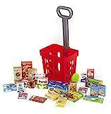 Polly Kinder Trolley 22 Teile für den Kaufladen | Spielzeug Zubehör für den Kaufmannsladen