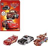 Disney Pixar Cars HBW14 - Disney Pixar Fahrzeuge Radiator Springs 3er-Packung, beliebte Die-Cast-Fahrzeuge, ab 3 Jahren