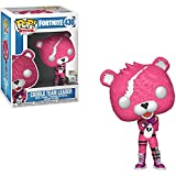 Funko Cuddle Team Leader: Fortnite x Pop! Games Vinyl-Figur & 1 PET-Kunststoff-Protektoren-Set [#430 / 35705 - B]