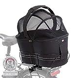 TRIXIE 13111 Fahrradkorb für schmale Gepäckträg