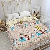 Decke hochwertige Wohndecken Kuscheldecken, extra warm Sofadecke/Couchdecke in zweiseitig, super flausch Fleecedecke als Sofaüberwurf oder Wohnzimmerdecke -Tierparadies_200 cm x 230 cm 2,1 kg