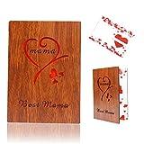 Geburtstagsgeschenk für mama, GrußKarten Aus Holz geschenk für frauen/Mama/mutter, Beste Mama der Welt für Muttertag