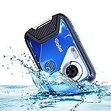 Rollei Sportsline 60 Plus - wasserdichte Digitalkamera mit 21 MP & Full HD Camcorder - Sports-Cam mit großem Display, 21 Motivprogrammen, robustes Case und einfacher Menüführung, perfekt fü