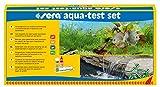 sera 04000 aqua-test set, Test Set fürs Aquarium & den Teich mit den 4 wichtigsten Wassertest pH, GH, KH, NO2 Teichwasser oder Aquarienwasser Testen für Fortgeschrittene schnell, genau, p