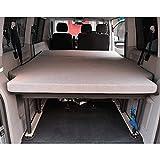 KFoam.es Faltbare Matratze für VW T5 T6 Multivan California Beach Caravelle 185 x 148 x 8 cm