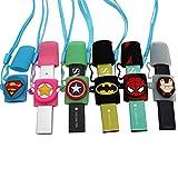 Silikon-Schutzhülle für Vape-Stift, elastisch, kompatibel mit jedem Vape-Stift (rosa-leuchtend)