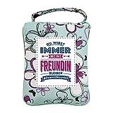 History & Heraldry Design Top Lady Tasche: Beste Freundin/Einkaufstasche, Strandtasche, Sporttasche/personalisiert mit Name und Spruch