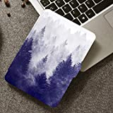 XINJIEJIE Kindle Paperwhite Soft Case Für Kindle Paperwhite 3/2/1 Cover Mit Auto Sleep/Wake Für Kindle Paperwhite 2017/2015/2013/2012 Drop Resistance Misty Wald Pattern Protective Cover