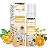 Cat Scratch Deterrent Spray, Kratz Spray für Katzen,Katzen Kratzschutz Spray,Kratzschutz für Katze Hund,Kratzfestes für Sofa, Tür, Tisch, Möbel