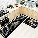 HLXX Anti-Rutsch-Küchenmatte für Boden Moderne Bad Teppich Eingang Fußmatte Tapete Fashion Area Teppiche Wohnzimmer Schlafzimmer Pad A19 50x80cm