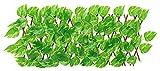 Künstliche Efeu Blatt Gartenzaun Einziehbare Künstliche Holzzaun Erweitern Willow Trellis mit Blättern Privatsphäre Zaun Garten Hedge Für Balkon Hinterhof Patio Outdoor Decoration