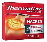 ThermaCare Nackenumschläge – Wärmeumschläge für Schulter & Nacken zur Linderung von Nackenschmerzen – Tiefenwärme zum Entspannen & Lockern der Muskeln – 2 Stück pro Packung