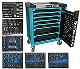 2021 KW-C04 Blue Werkzeugwagen Werkstattwagen