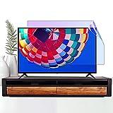 AWSAD TV Displayschutzfolie, Staubdicht Passend für LCD/LED / 4K OLED/QLED HDTV Displays Desktop-Monitor Augenbelastung Entlasten 32-75 Zoll Wasserdicht