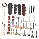 Felenny 75 Stück elektrische Schleifmaschine Zubehör Trennscheibe Lamellenschleifer Schleifen Polieren Werkzeuge für elektrische S