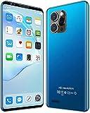 WWJ Android Smartphone, günstige Mobiltelefone, entsperrtes Telefon mit Gesichtserkennung, 1 GB RAM + 4 GB ROM, Dual-SIM-Karte, erweiterbarer Speicher, 4,0-Zoll-HD-Bildschirm