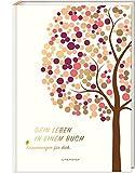DEIN LEBEN IN EINEM BUCH (beige): Erinnerungsbuch Baby zur Geburt für 18 unvergessliche Jahre - Baby Buch, Baby Geschenk, Fotoalbum Baby (PAPERISH®)