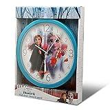 Frozen 2 Wanduhren für Kamin, Dekoration für Zuhause, Unisex, Erwachsene, Mehrfarbig, einzigartig