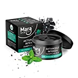 MARA EXPERT Aktivkohle Jelly 50ml | Zahnaufhellung Set | Mit Aloe Vera & Minzgeschmack | Aktivkohle Pulver & Aktivkohle Zahnp