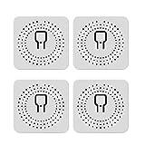 YANZHU 10A Smart WLAN WLAN Relais Schalter 1 Gang DIY WLAN Smart Lichtschalter Modul Smart Life/Tuya App Kompatibel mit Alexa Und Google Home Smart Lautsprechern mit