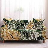Personalisierter Fashion Leaf Series Sofaüberzugall-Inclusive Großer Stretch-Sofabezug, Geeignet Für Zuhause Und Hotel Full-Cover Stoff-Sofakissen