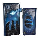 Nemesis Now B3940K8 Wish Upon a Star Lisa Parker Geldbörse geprägt, 18,5 cm, blau, PU